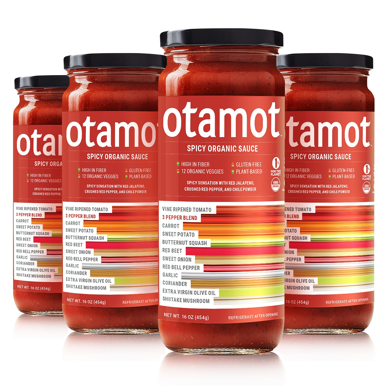 Organic Spicy Sauce 4-Pack