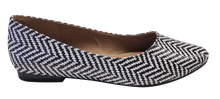 Load image into Gallery viewer, Ballet Flat- Raffia