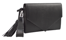 Load image into Gallery viewer, Embossed Clutch- Black