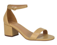 Load image into Gallery viewer, Ankle Strap Sandal, Low- Beige