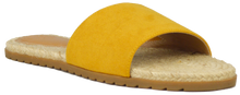 Load image into Gallery viewer, Slides- Yellow Suede