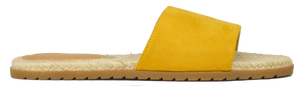 Slides- Yellow Suede