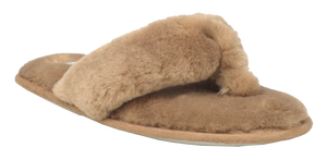 Fuzzy Slipper - Brown
