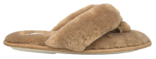 Load image into Gallery viewer, Fuzzy Slipper - Brown
