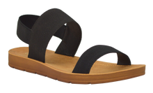 Load image into Gallery viewer, Banded Sandal- Black