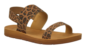 Banded Sandal - Animal