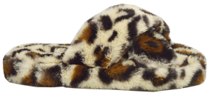 Furry Slipper Thong- Animal