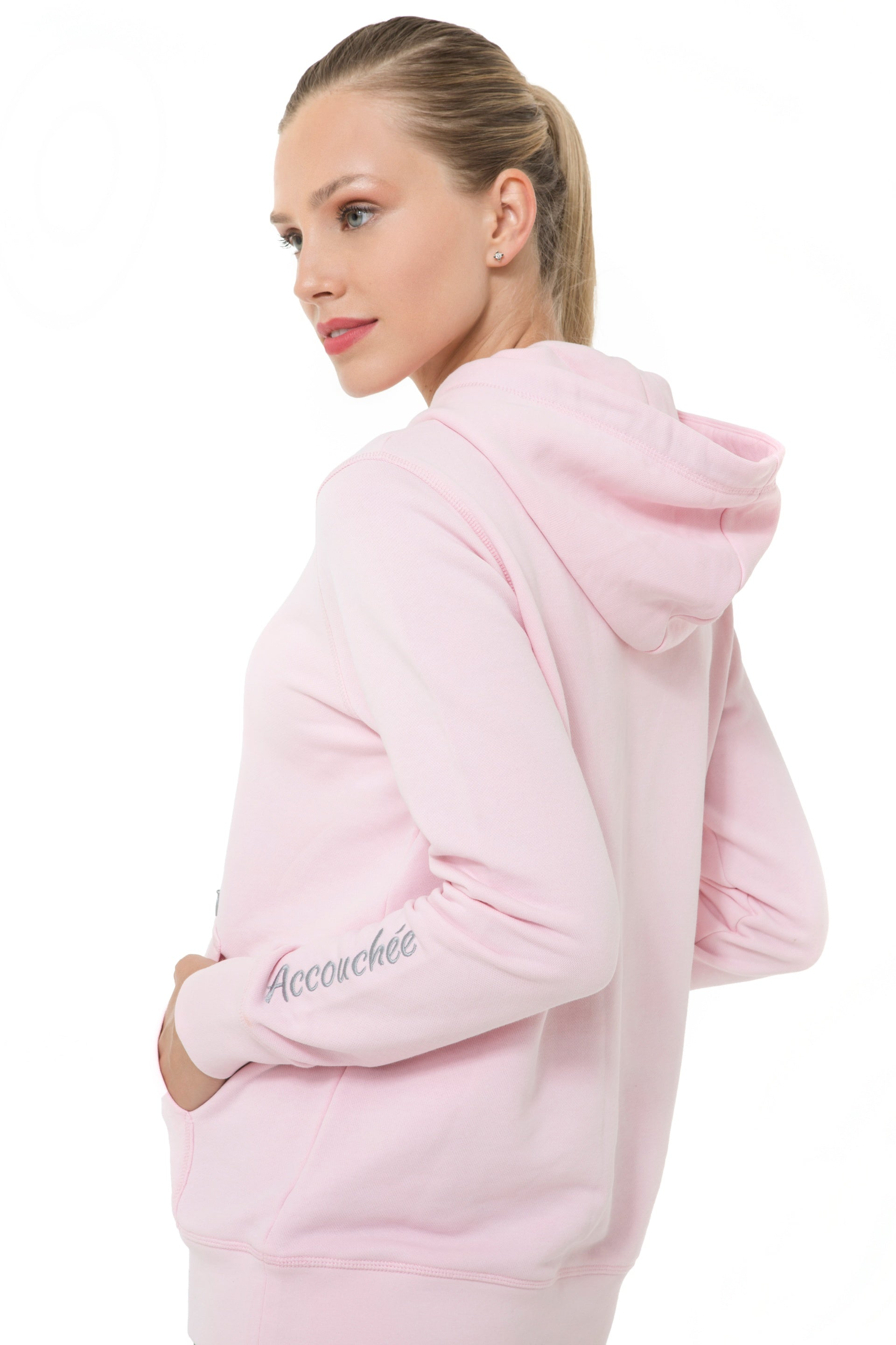 Accouchee Iconic Pink Sweatshirt