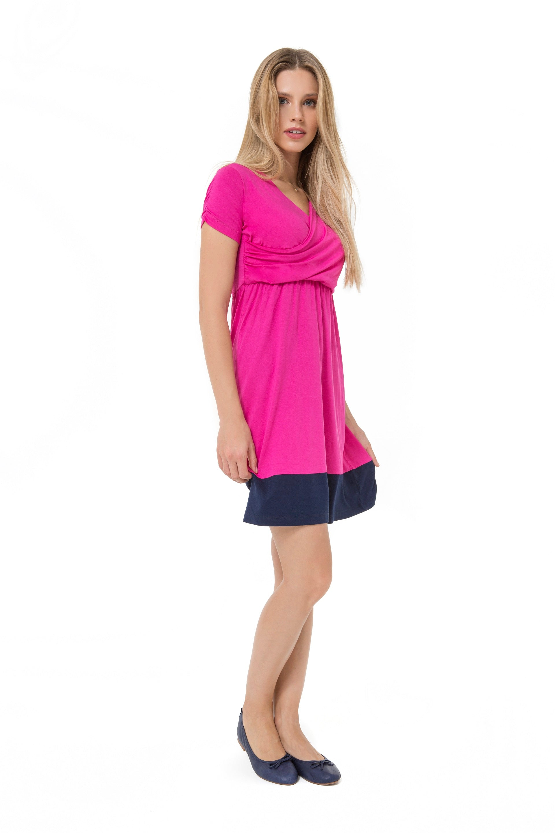 Accouchee Highlight Dress Pink