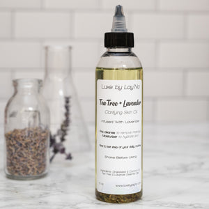 Tea Tree + Lavender Clarifying Skin Oil
