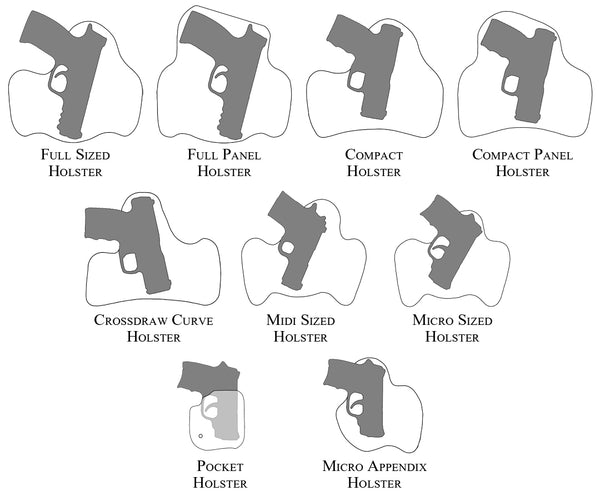 Tread Softly Concealment Holster Styles
