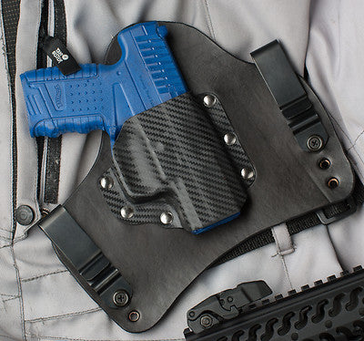 Walther PPS 9 and 40 Carbon Fiber Kydex