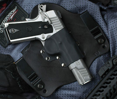 Springfield 1911 Operator Black Leather