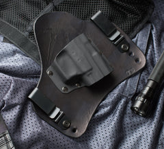 XD Subcompact Black Leather Holster