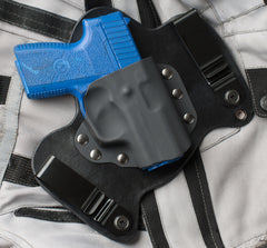 Khar PM9 Black Leather IWB Gun Holster