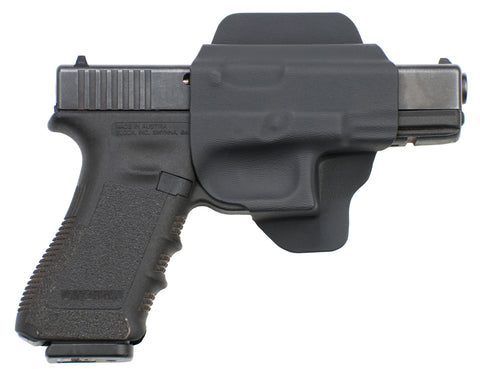 Glock 17 19 22 23 31 32 34 Black Kydex DIY Shell