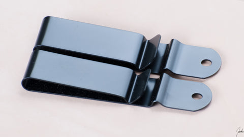 Metal Belt Clip - Black Oxide