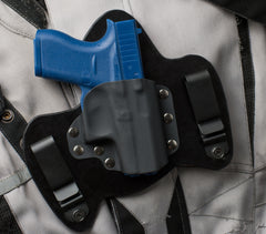 Glock 42 Black Leather Holster