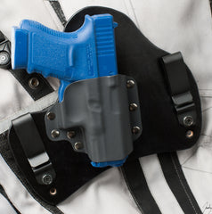 Glock 30S Black Leather Holster