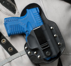 XDS Single Point Carry Black Leather Holster