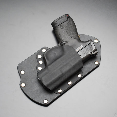Hook and Loop Backed Gun Holster M&P Shield 9 and 40 Smith and Wesson