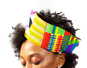 Multi Color Afro Print