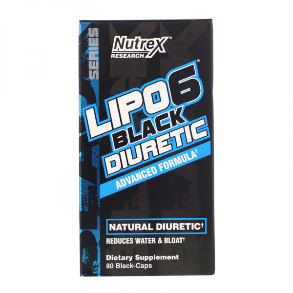 LIPO 6 BLACK DIURETIC 80CAPS
