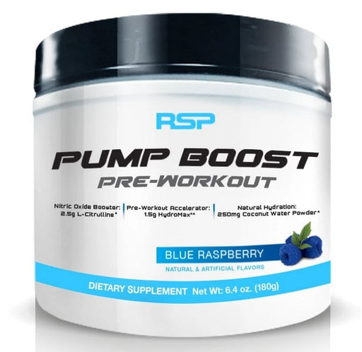 RSP PUMP BOOST PRE-WORKOUT ✅
