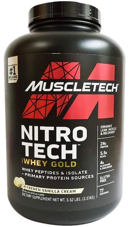 NITROTECH WHEY GOLD ✅