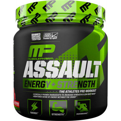 Assault Musclepharm - preentreno ✅