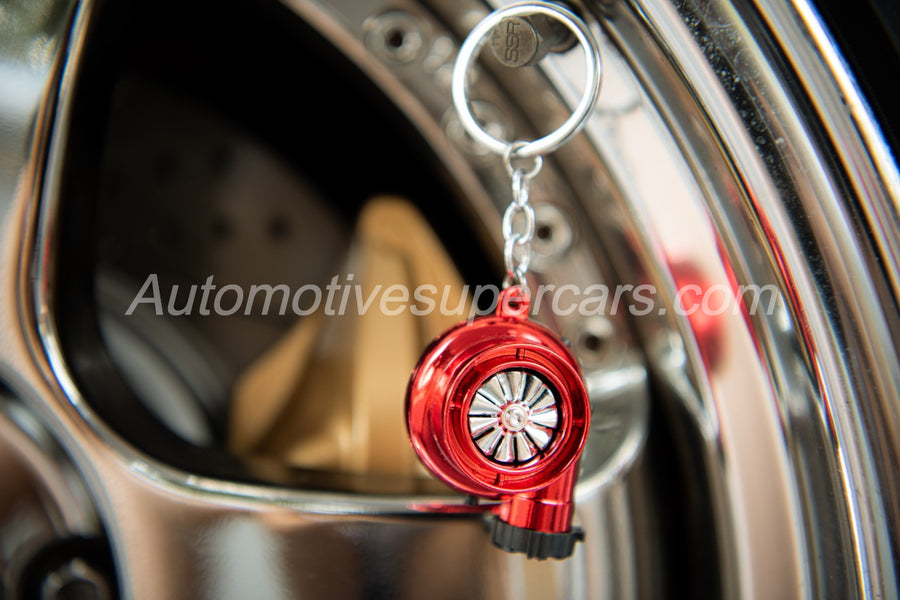 Turbo Spool lighter keychain (Lighter and real whistle sound) - AutomotiveSupercars