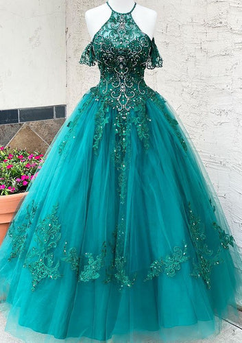 Long Prom Dresses with Appliques and Beading Winter Formal Dresses,Evening Dresses PPS149