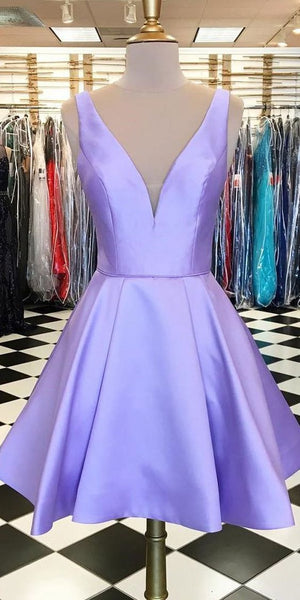 2020 Short Homecoming Dress , Popular Short Prom Dress ,School Back Dress PDH0078