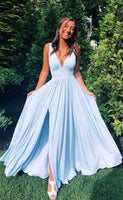 Simple Prom Dresses Long Prom Dress Fashion School Dance Dress Winter Formal Dress PDP0618