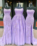 Grad Dresses Long with Applique and Beading, Prom Dresses Long ,School Dance Dress,Formal Dress PDP0732