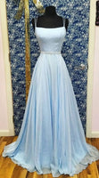 Simple Long Prom Dresses 8th Graduation Dress School Dance Winter Formal Dress PDP0535
