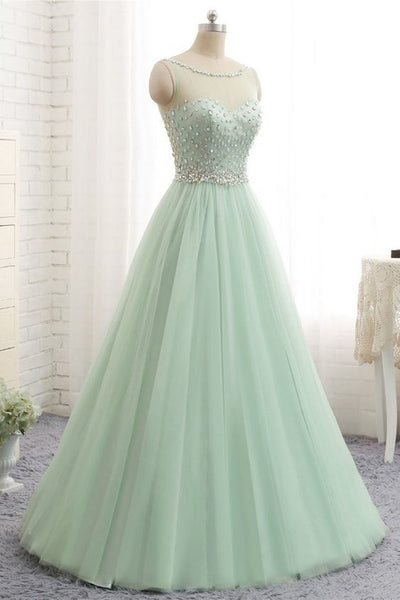 2020 Prom Dresses with Beading , Sweet 16 Quinceanera Dress ,Fashion School Dance Dress Formal Dress PDP0675