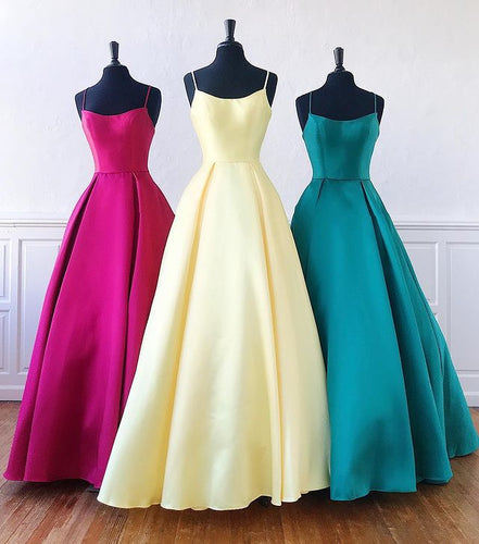 Simple Long Prom Dresses  Winter Formal Dresses,Evening Dresses PPS157