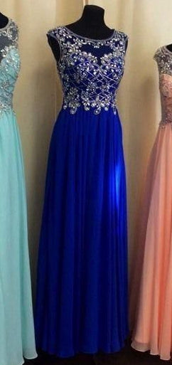 Long Prom Dress with Beading ,Fashion Dance Dress,Sweet 16 Quinceanera Dress PDP0289