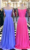 Simple Long Prom Dresses Fashion School Dance Dress Winter Formal Dress PDP0397