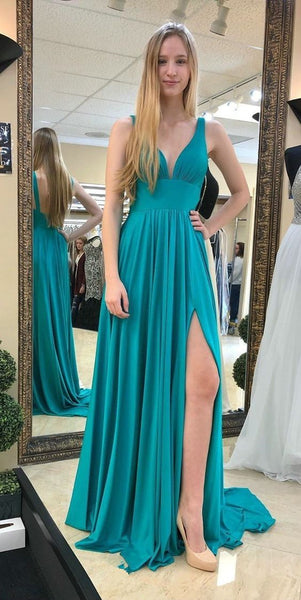 Sexy Simple Prom Dresses , Long Prom Dress ,Future Wedding Formal Dress PDP0713