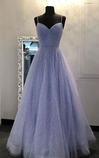 Sparkly Prom Dresses Long Prom Dress Fashion School Dance Dress Winter Formal Dress PDP0638