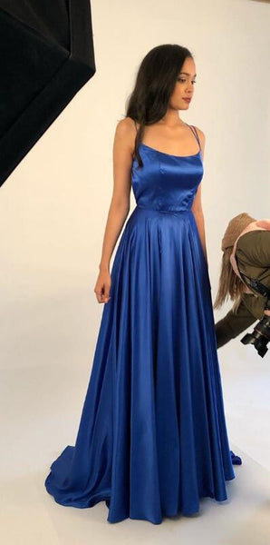 Simple Long Prom Dresses 8th Graduation Dress School Dance Winter Formal Dress PDP0471