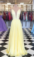 Long Prom Dresses With Beading Fashion School Dance Dress Winter Formal Dress PDP0417