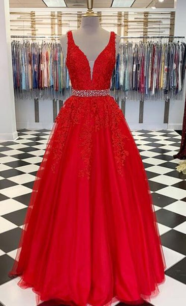 2020 Long Prom Dresses With Applique and Beading Fashion School Dance Dress Winter Formal Dress PDP0419