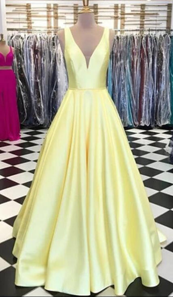 Simple Long Prom Dresses Fashion School Dance Dress Winter Formal Dress PDP0427