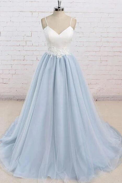 Open Back Ball Gown Long Prom Dresses Fashion School Dance Dress Winter Formal Dress PDP0424