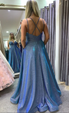 Sparkly Prom Dresses Long Prom Dress 8th Graduation Dress Formal Dress PDP0559