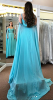 Prom Dress with Beading Long Prom Dresses 8th Graduation Dress Formal Dress PDP0587