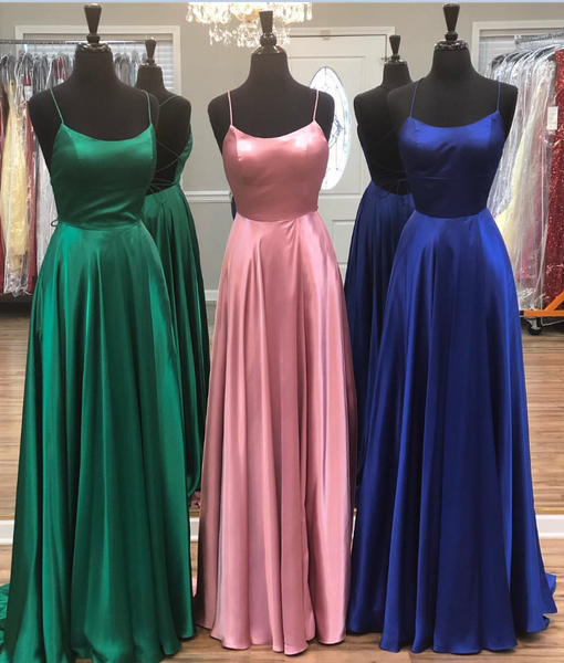 Simple Prom Dresses Long Prom Dress Fashion School Dance Dress Winter Formal Dress PDP0622